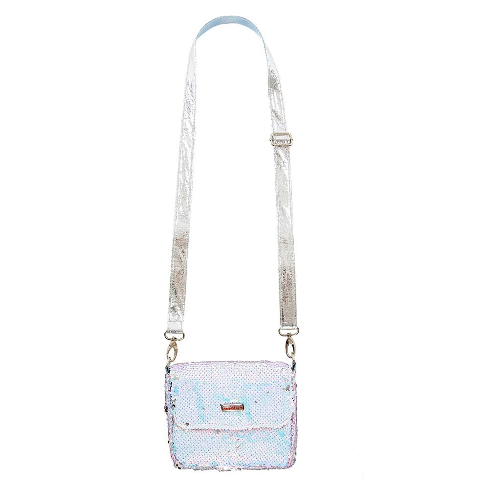 flap&bag rome small icy blue
