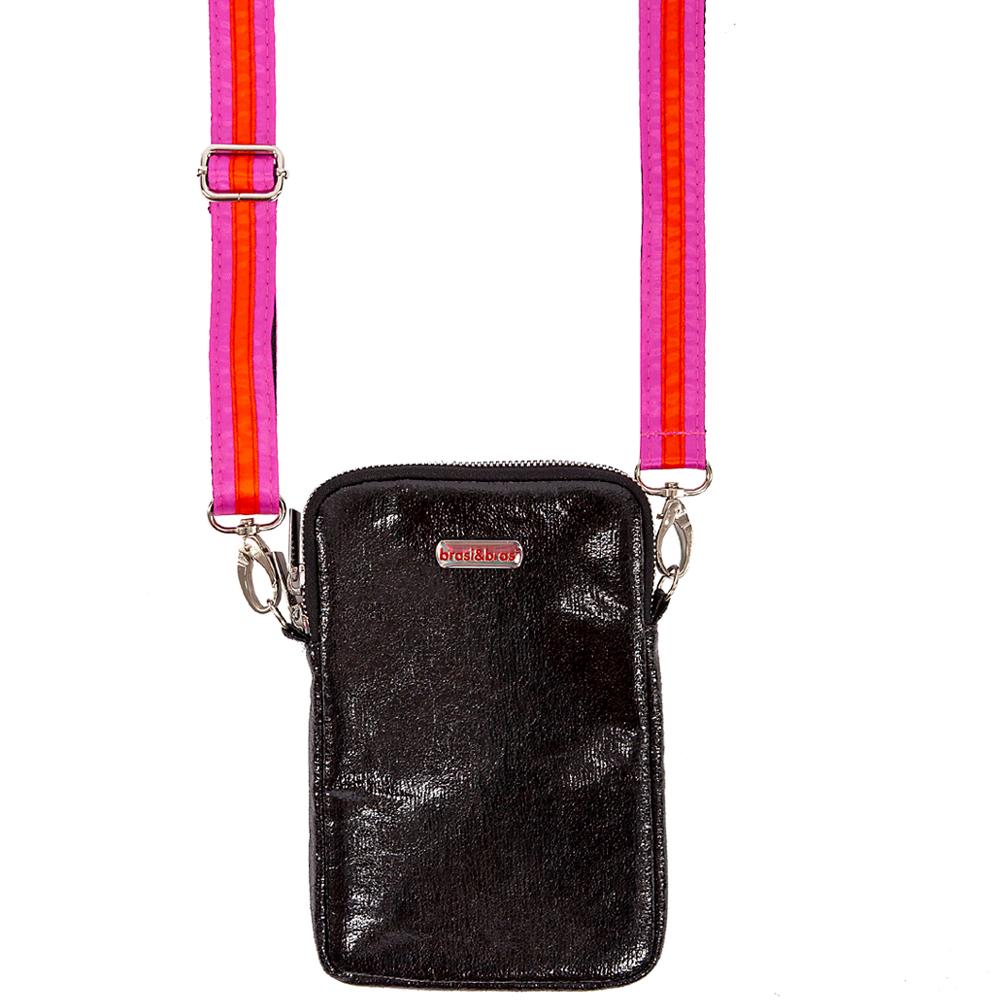 handy&summerstripe zip schwarz