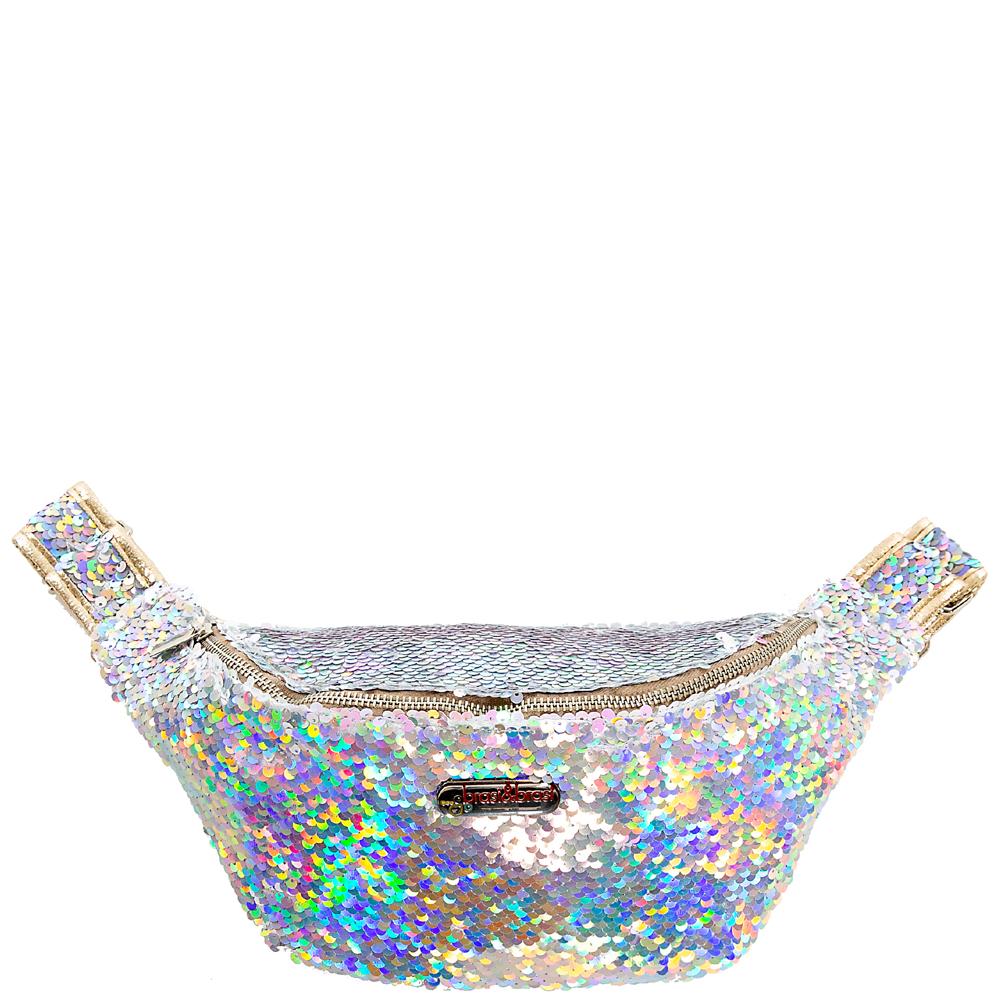 belt&bag rome gold/weiß