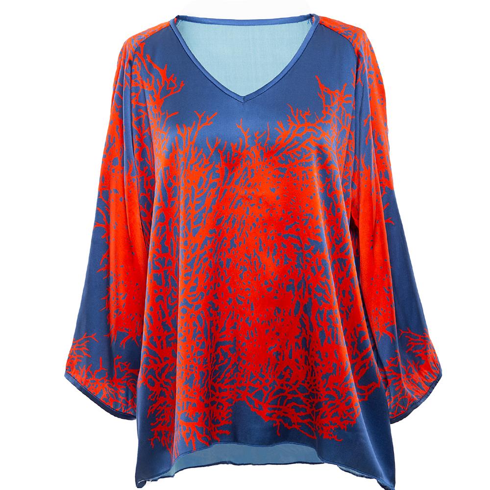 ming&tunic coral blau/rot