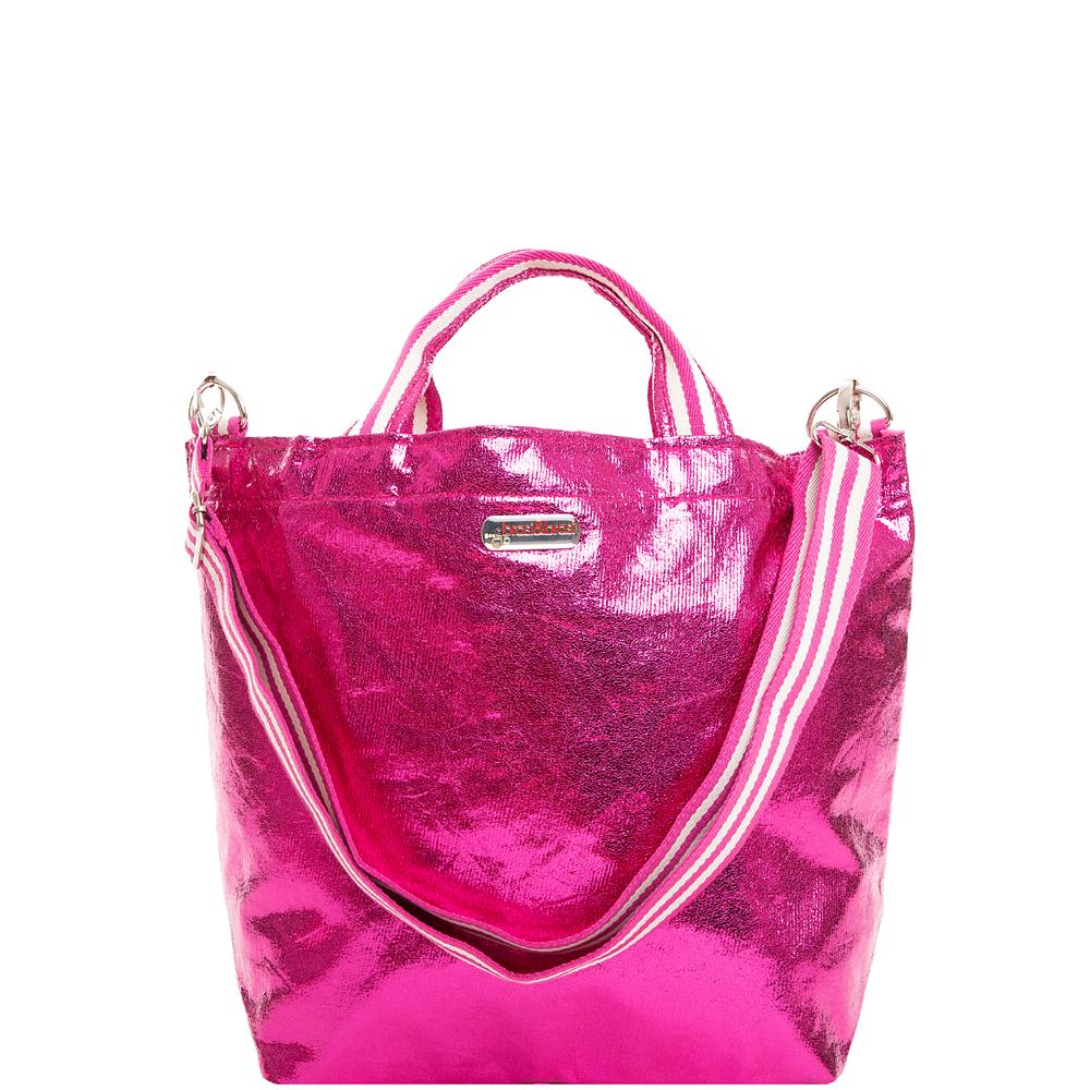 shop&glitter stripe pink MIT REISSVERSCHLUß
