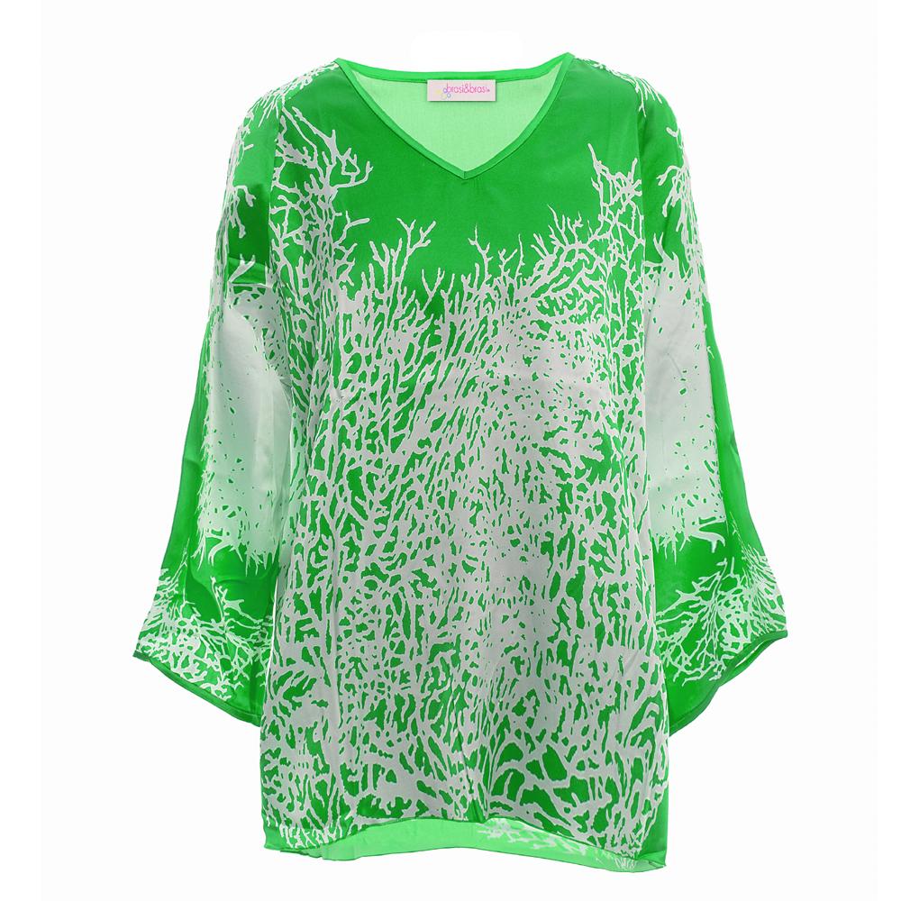 ming&tunic coral grün/weiss