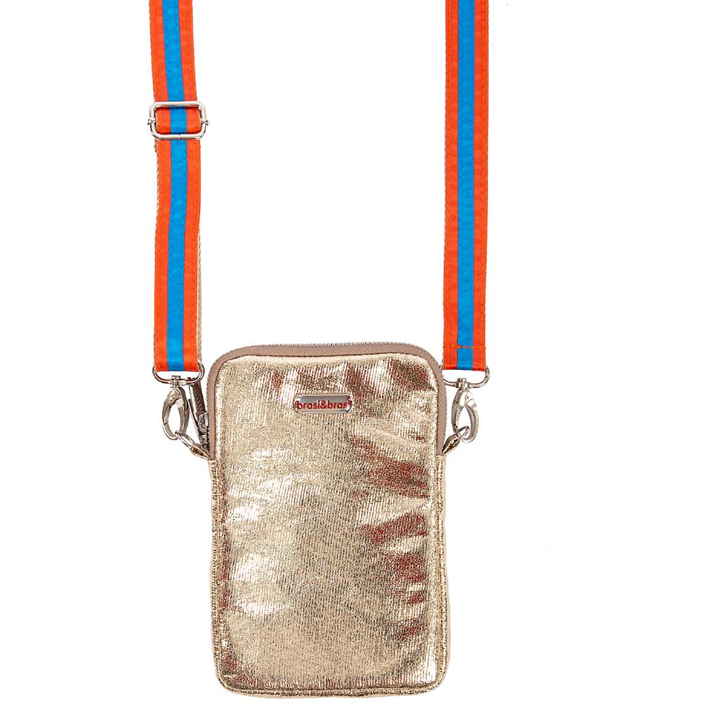 handy&summerstripe zip gold