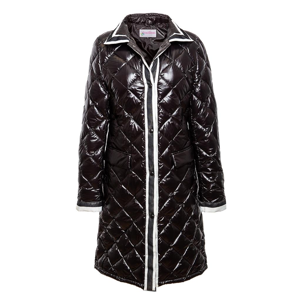 stepp&stripe coat schwarz   Ausverkauft!