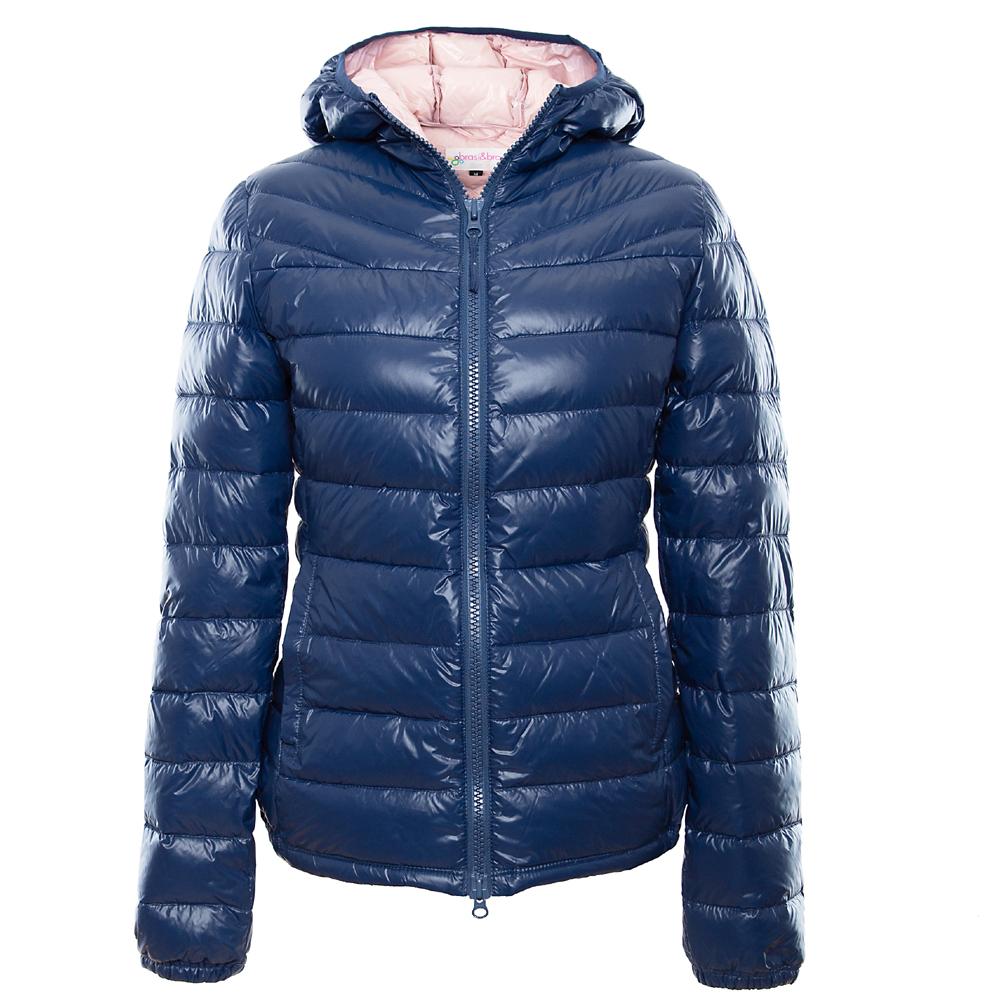 stepp&jacket bicolor blau