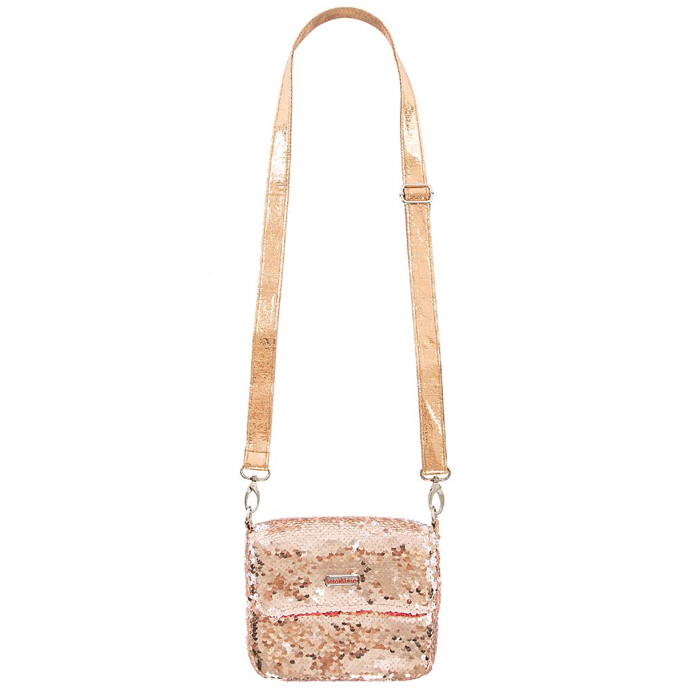 flap&bag rome small rosegold