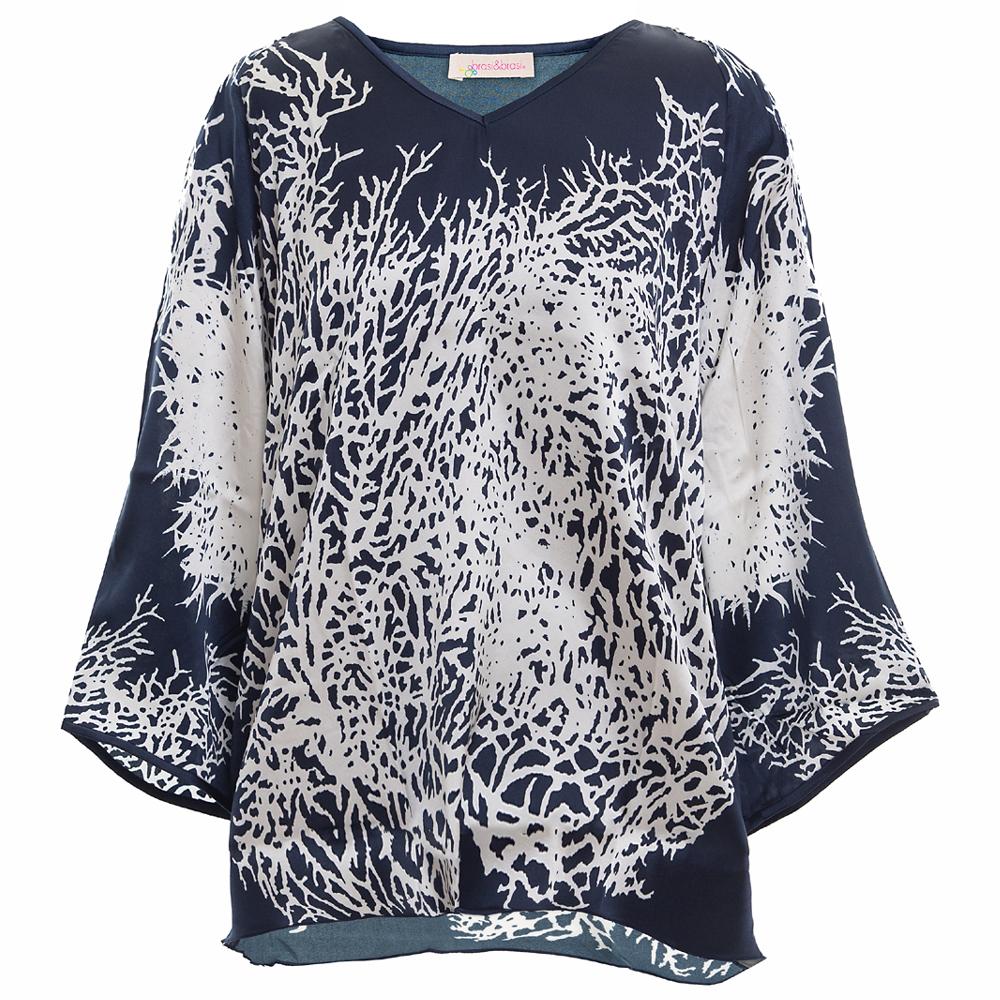 ming&tunic coral black/white