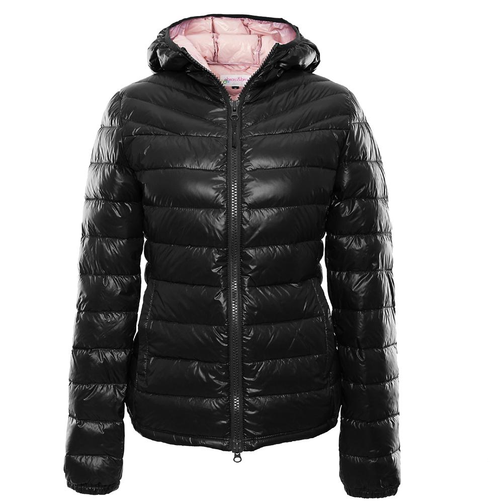 stepp&jacket bicolor schwarz