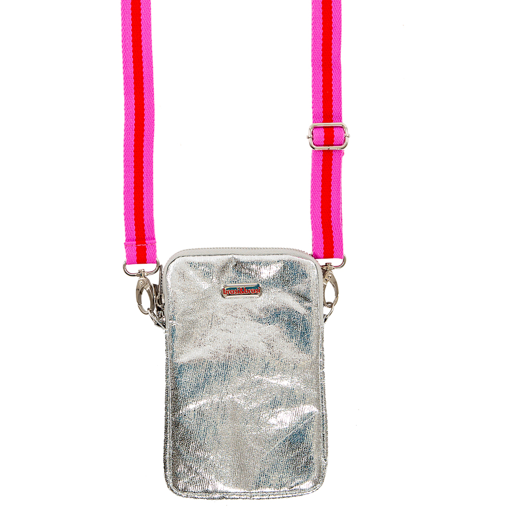 handy&summerstripe zip silver