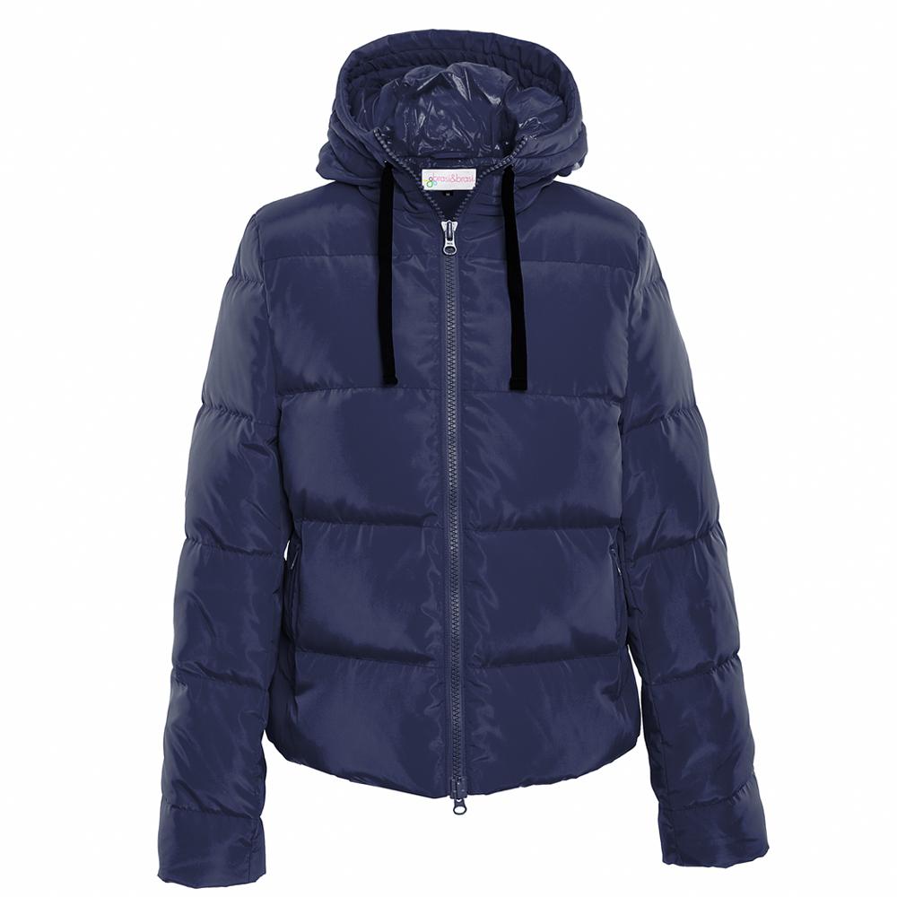 short&jacket frosty blau