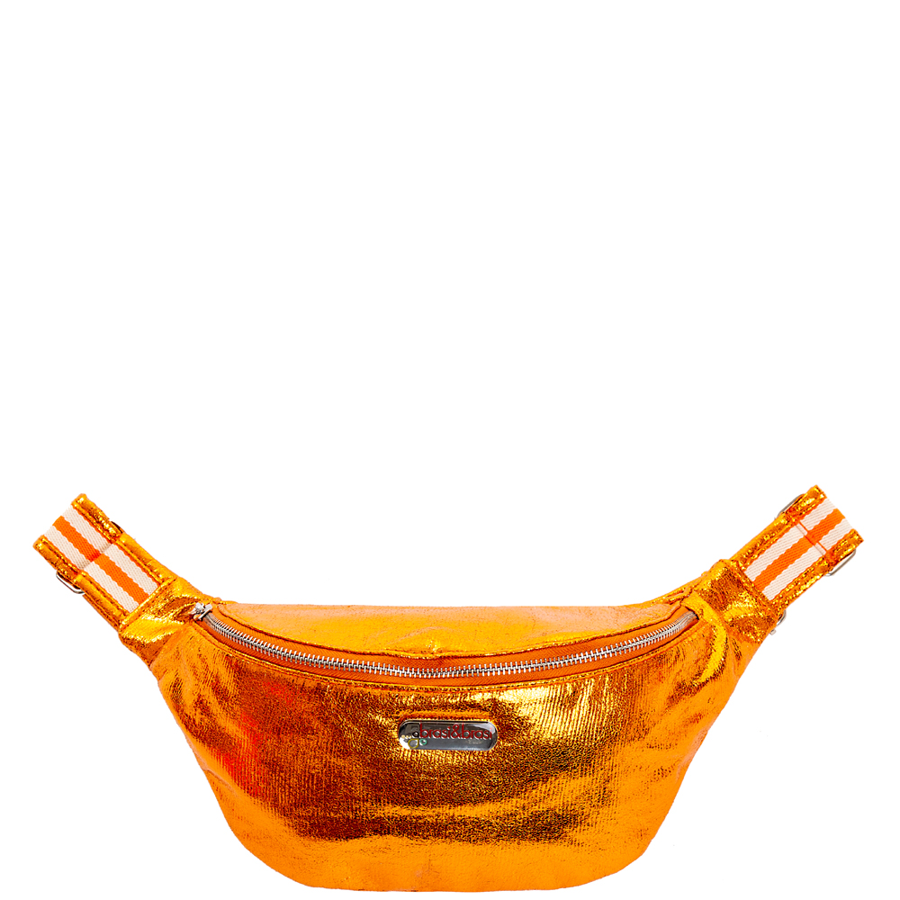 belt&bag glitter stripe orange