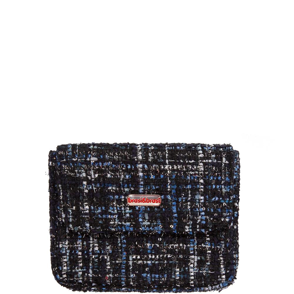 Flapbag paris small  blue grey