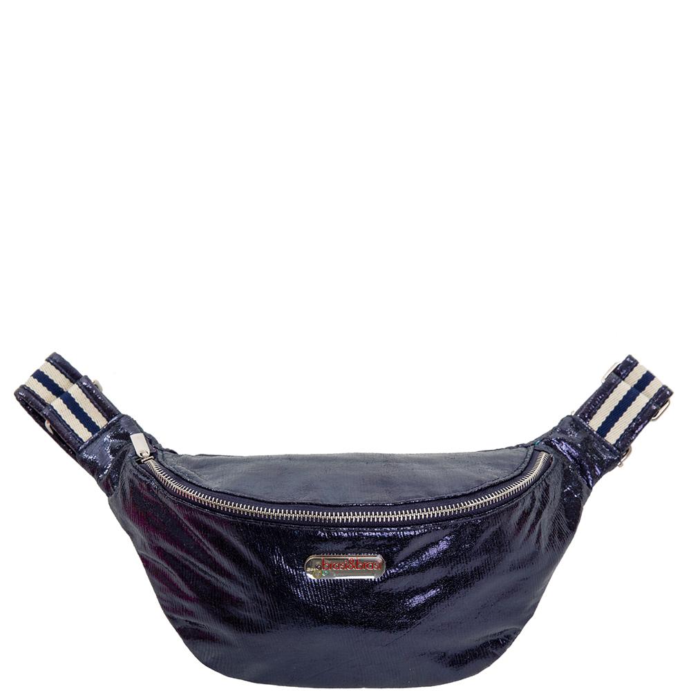 belt&bag glitter stripe dunkelblau